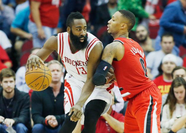James Harden et les Houston Rockets l'emporteront-ils sur Damian Lillard et les Portland Trail Blazers ?
