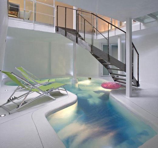 Indoor Swimming Pools House: Casa Rota Modern House With Indoor Swimming Pool