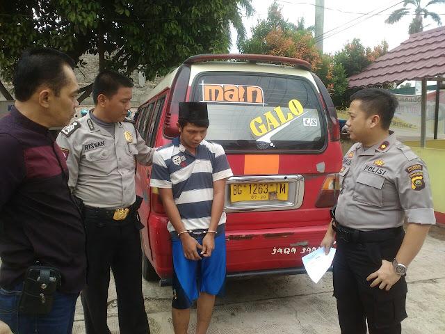 Bobol Gudang Terekam CCTV, Arie Diciduk