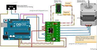 A4988 Micro Stepping Motor Driver and Arduino UNO