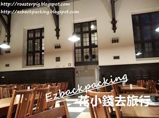 東京立教大學中央食堂英倫風環境
