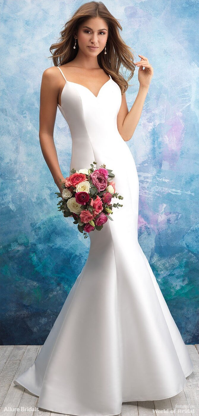Allure Bridals Fall 2018 Wedding Dresses - World of Bridal
