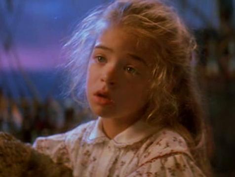 Maggie Banning (Amber Scott) en Hook, el Capitán Garfio - Cine de Escritor