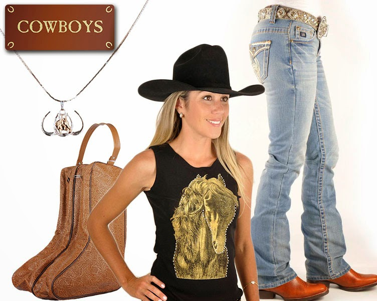 Cowboys  Look Country Feminino fc4e439cd52
