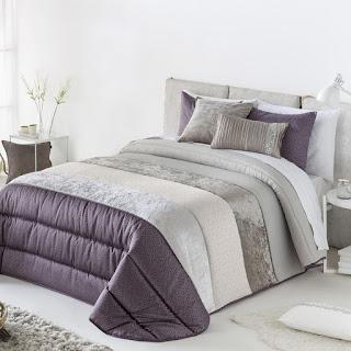 Edredón Comforter modelo Nani malva de Antilo Textil