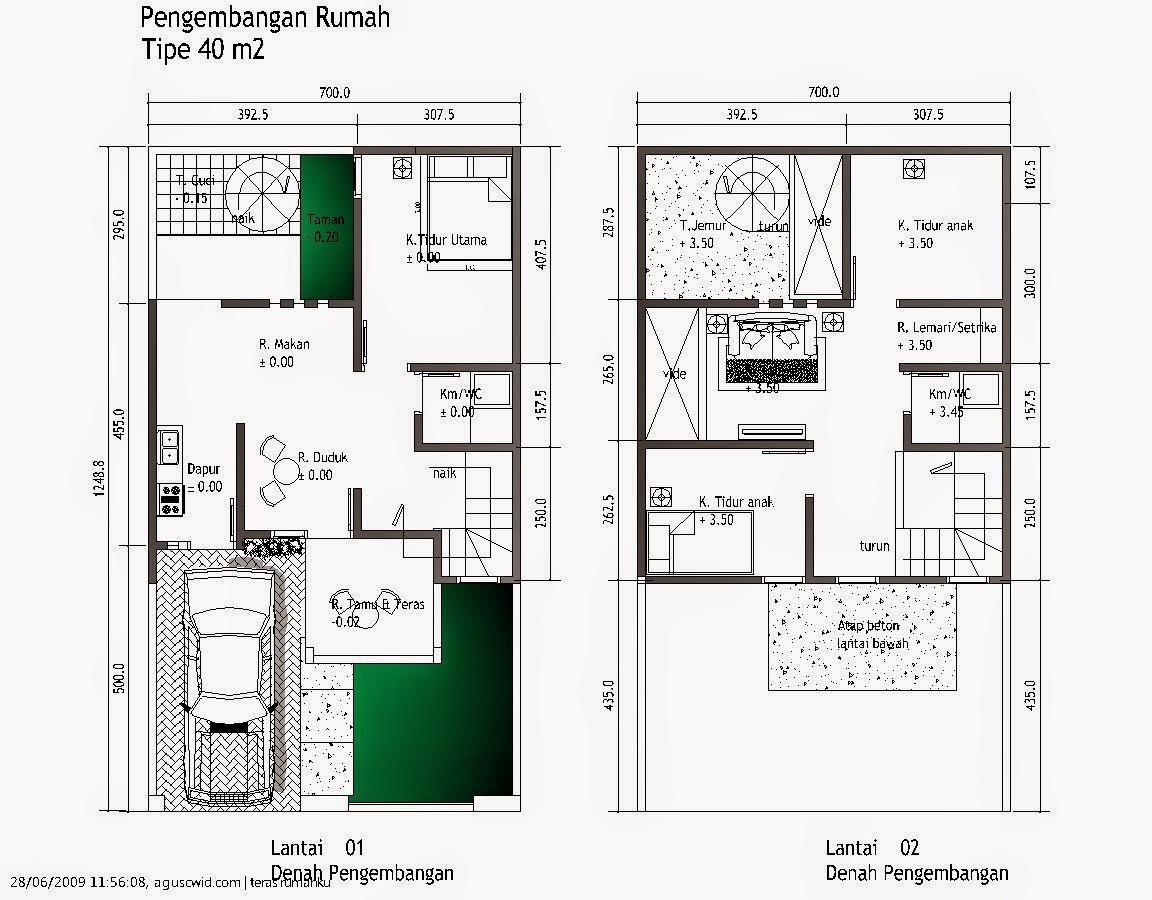 61 Desain Rumah Minimalis 6 X 10 M Desain Rumah