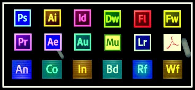 تحميل جميع برامج ادوبي لتصميم الصور والفيديو 2018 مع التفعيلPhotoshop-Illustrator