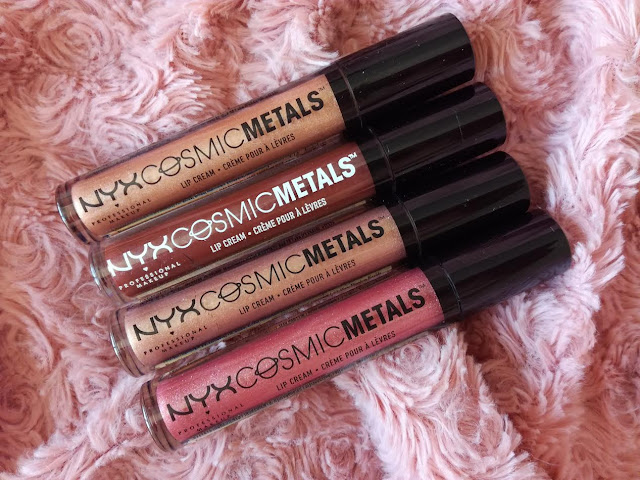 Collection Cosmic Metals par Nyx lipstick