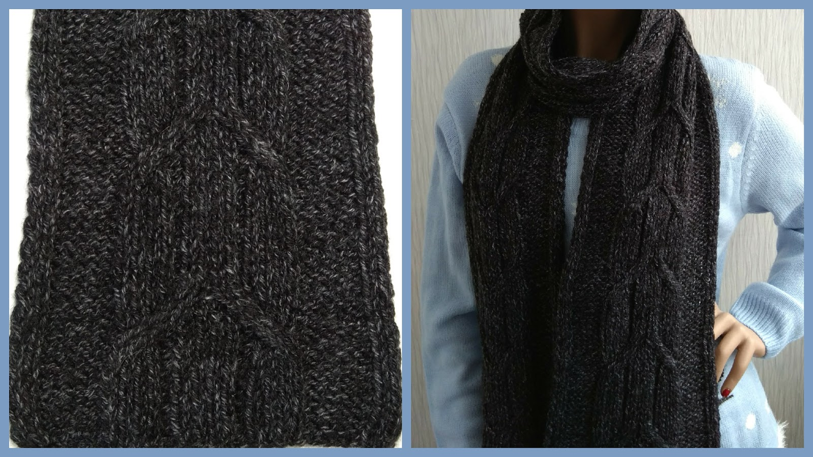 Cable Scarf - Knitting Patterns