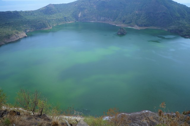 Crater Lake Taal Volcano