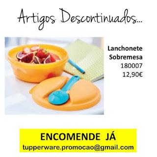 180007 - Lanchonete Sobremesa Tupperware