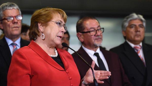 Michelle Bachelet condena abuso contra mujeres en fragata Lynch
