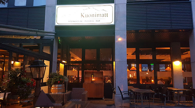 Kuonimatt Steakhouse, Pizzeria e Bar. Kriens, Lucerna.