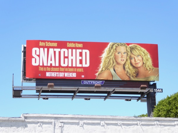 Snatched movie billboard
