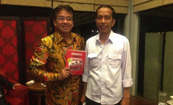Denny JA Ahli Bius Jokowi dengan Angka-Angka Survei