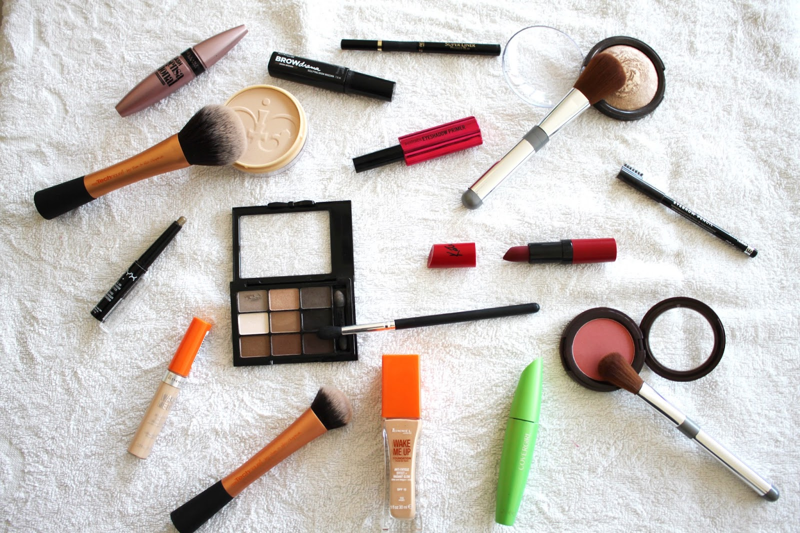 Festive Make Up Look Products
