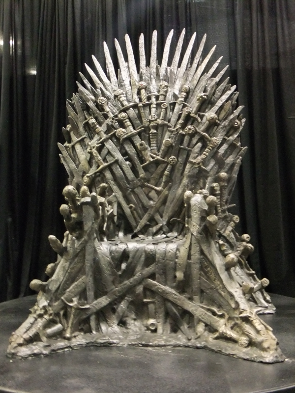 Iron Throne Game Of Thrones Gr Fans
