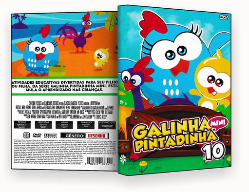 CAPA DVD – Galinha Pintadinha vol.10 – ISO