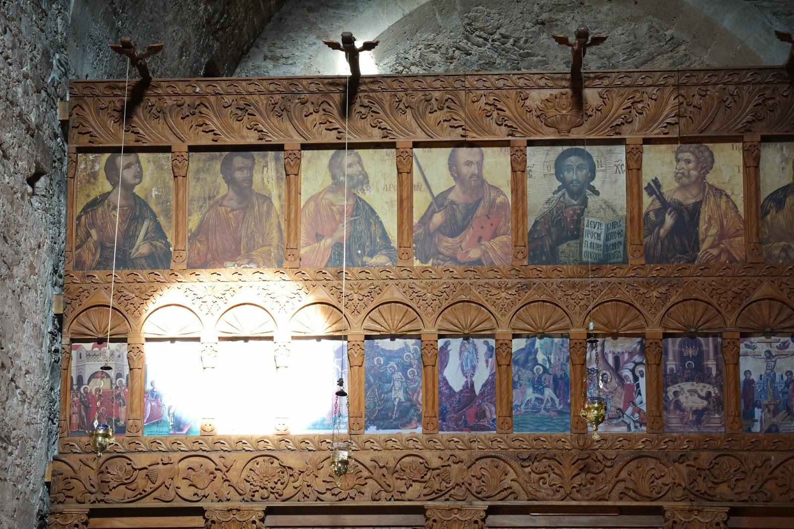 SecretCyprusTravel Images inside the Monastery of