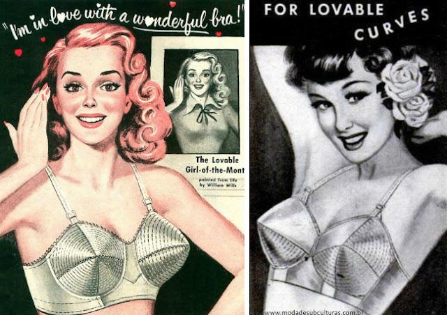 1950s bullet bra