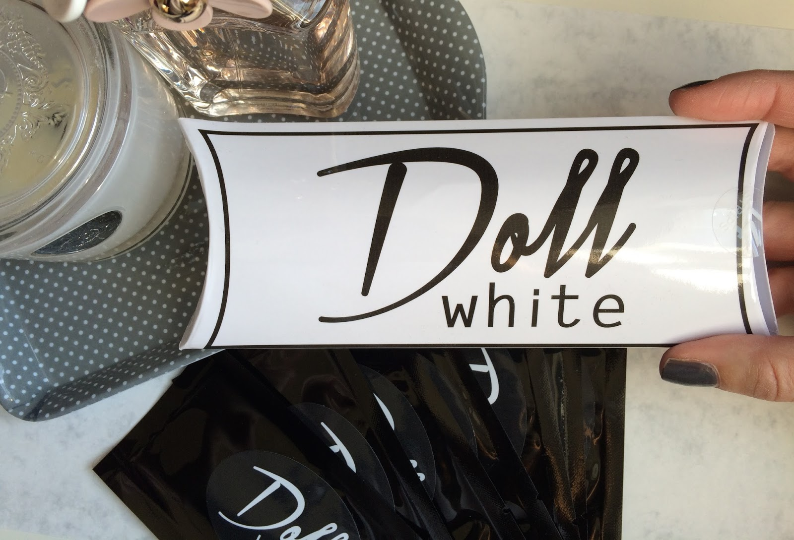 Doll White teeth whitening strips review