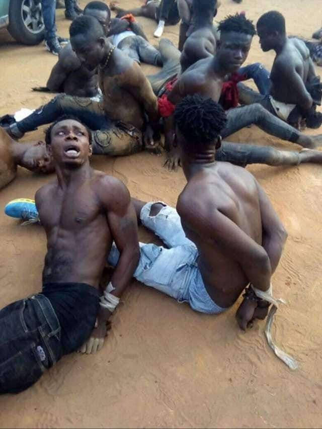 #NigeriaDecides2019: 10 youths arrested in Abia for ballot snatching