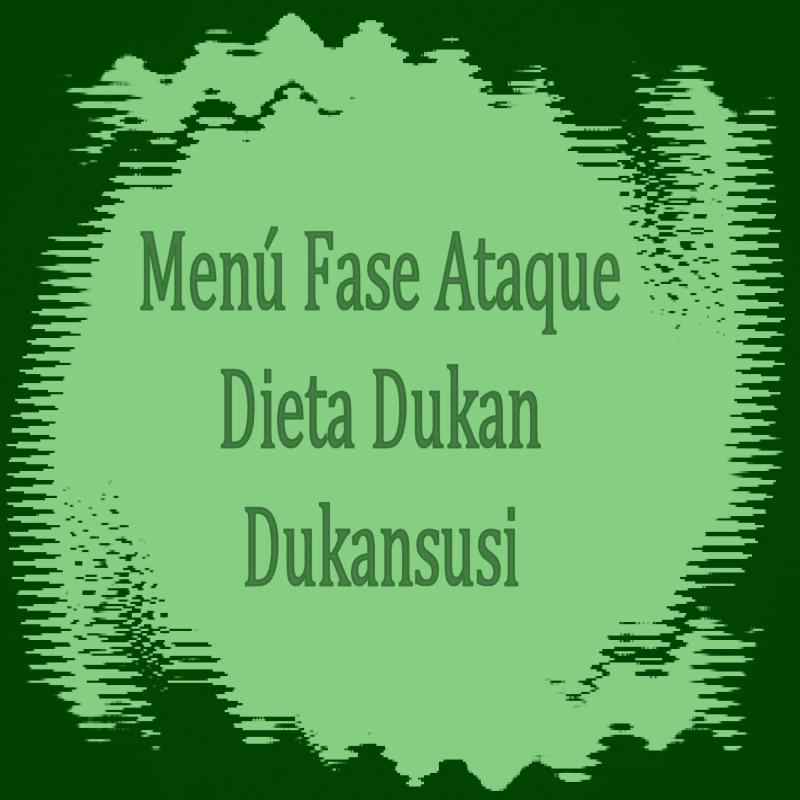 Recetas de fase de ataque metodo dukan