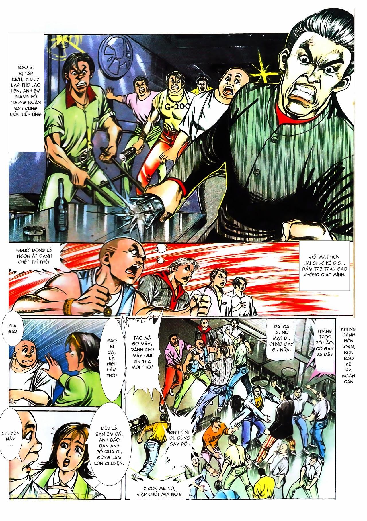 Người Trong Giang Hồ chapter 104: tuổi trẻ máu lửa trang 4