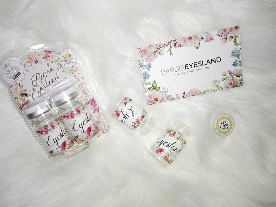 Ika Sani: REVIEW: BARBIE EYESLAND CONTACT LENS