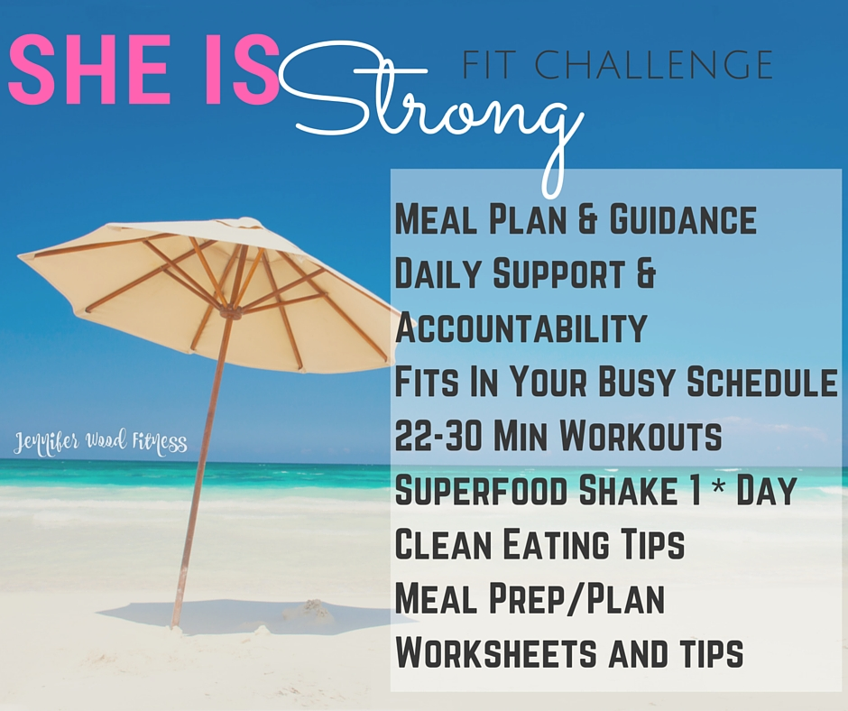 july fitness nutrition weight loss accountability online group she is strong summer fit challenge