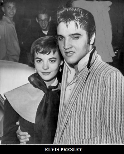elvis presley and natalie wood relationship