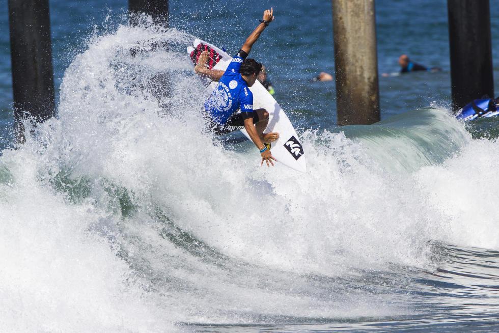31 Alex Ribeiro Vans US Open of Surfing Foto WSL Sean Rowland