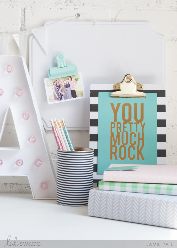 Back to School with Heidi Swapp Lightbox by Jamie Pate | @jamiepate for @heidiswapp