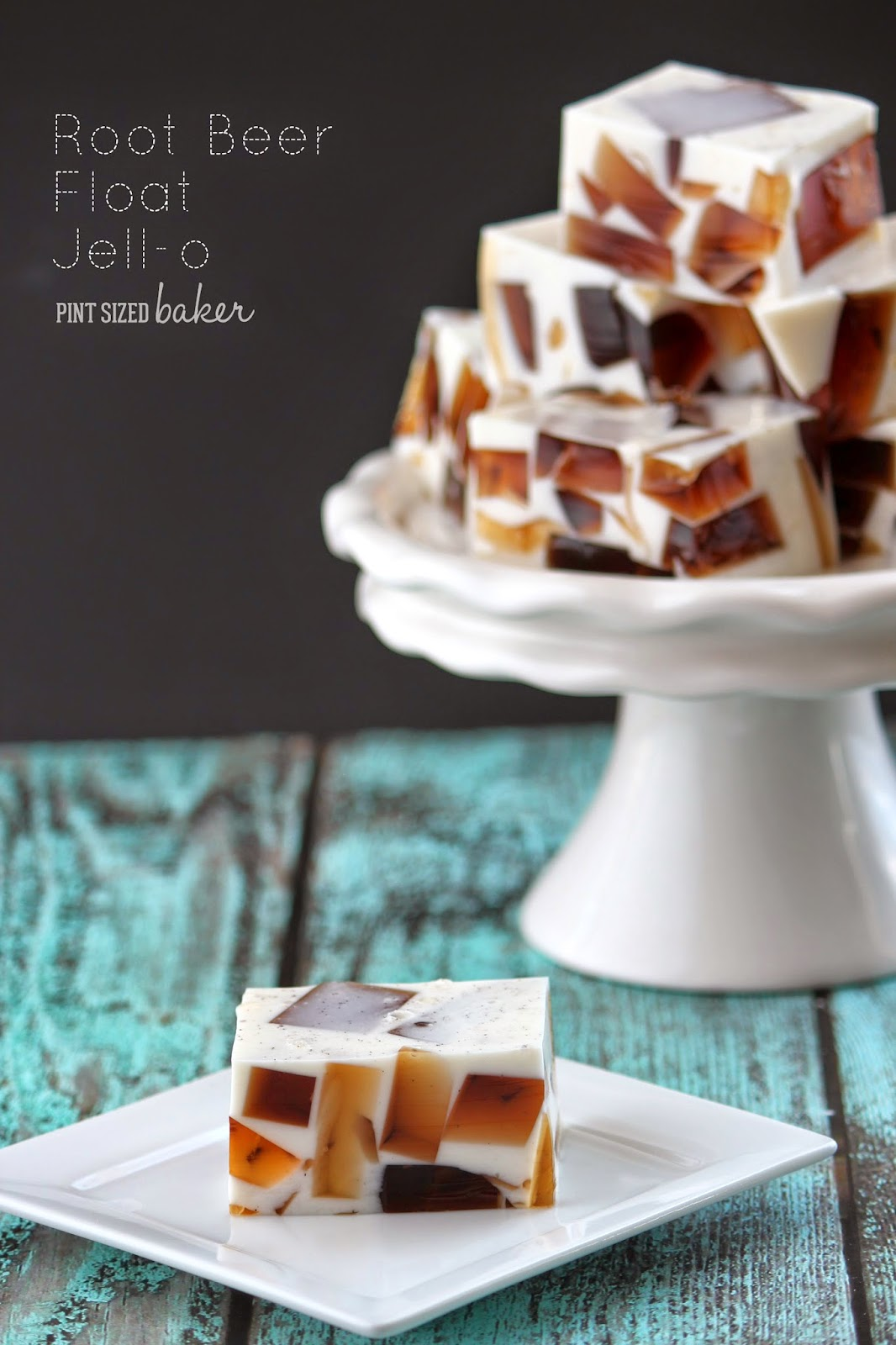 Root Beer Jello. Fun and Easy for the family!