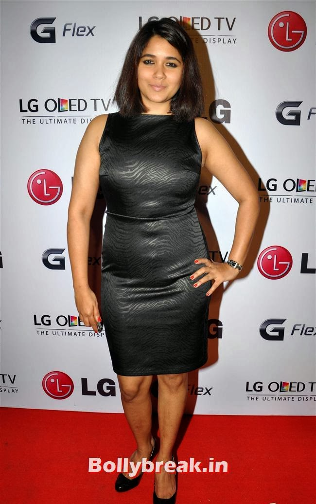 Narayani Shastri, Celebs at LG G Flex Smartphone Launch