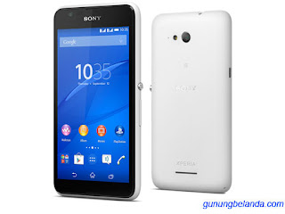 Cara Flashing Sony Xperia E4g E2003