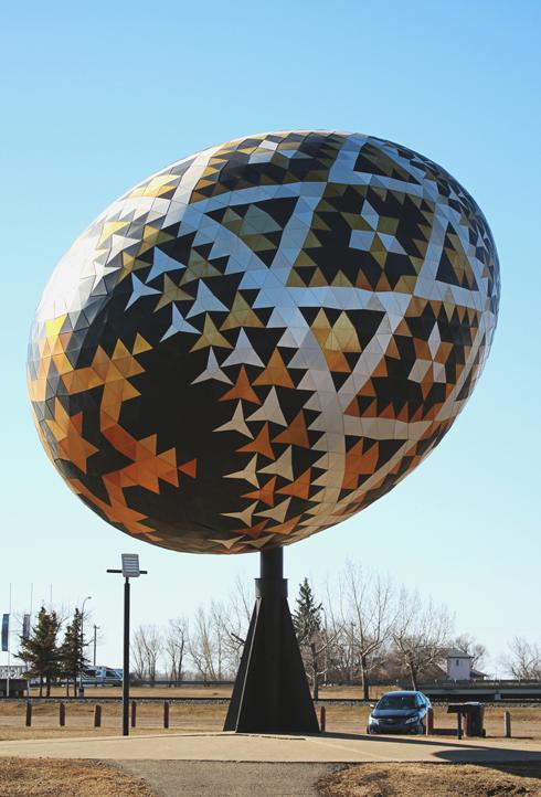 Vegreville Pysanka Egg Alberta