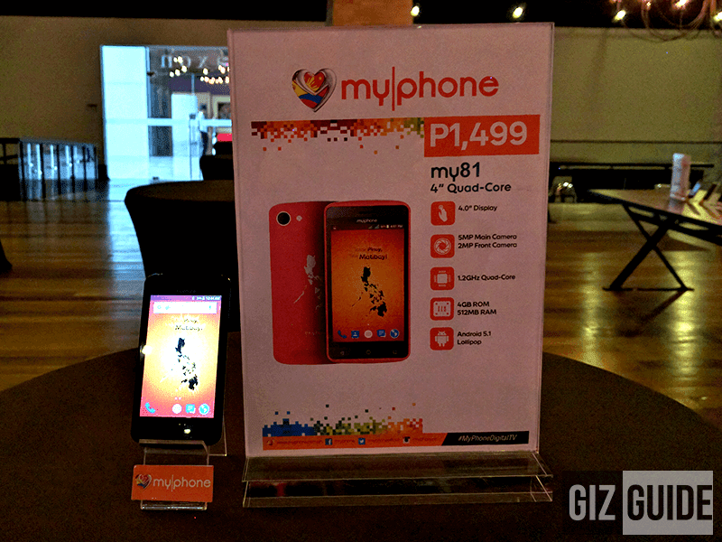 MyPhone My81