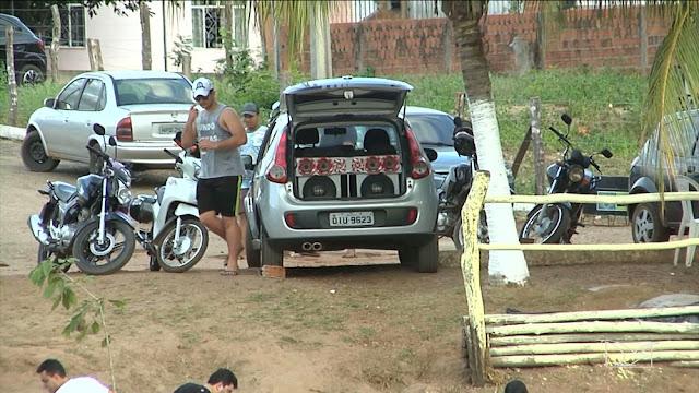 Polícia fiscaliza poluição sonora em ponto turístico no MA