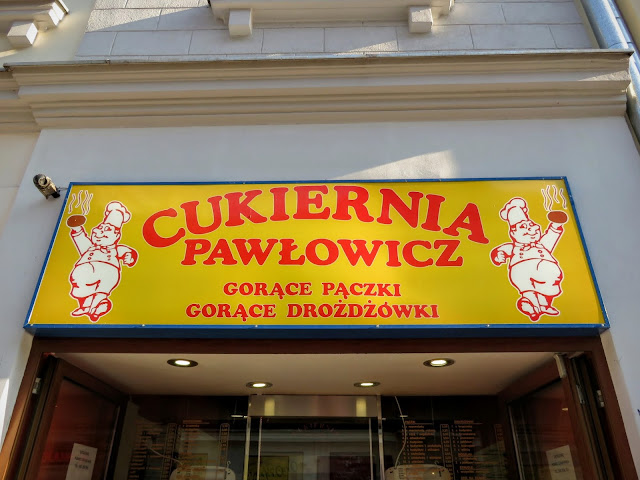 Where to eat in Warsaw Poland: Cukiernia Pawłowicz