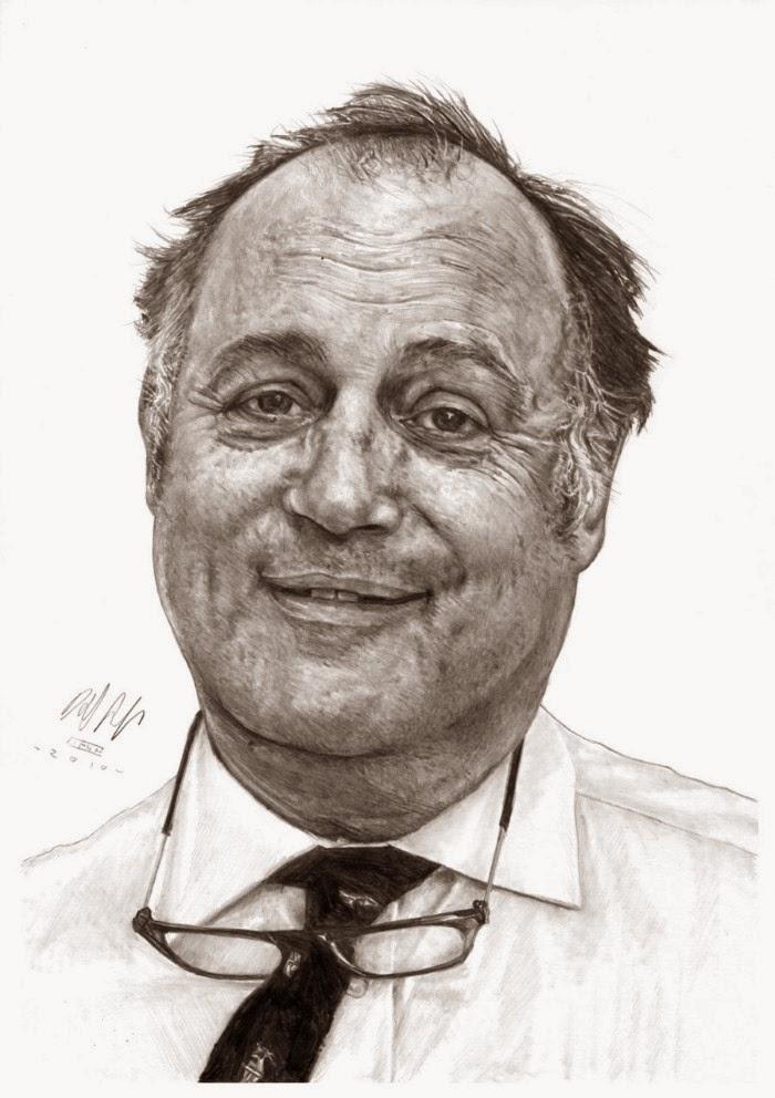 С карандашом и бумагой. David Sadler