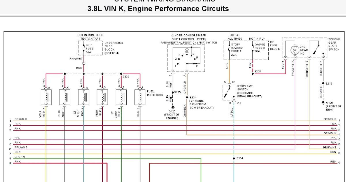 2001 pontiac firebird system wiring diagrams 17 3 8l vin k engine performance circuits part 2. Black Bedroom Furniture Sets. Home Design Ideas