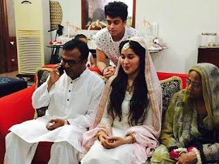 Shaista Lodhi Nikkah Picture