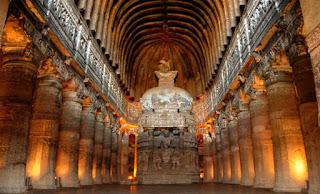 Σπήλαια Ajanta – Μια σειρά από μνημεία σκαλισμένα σε βράχο [Εικόνες]