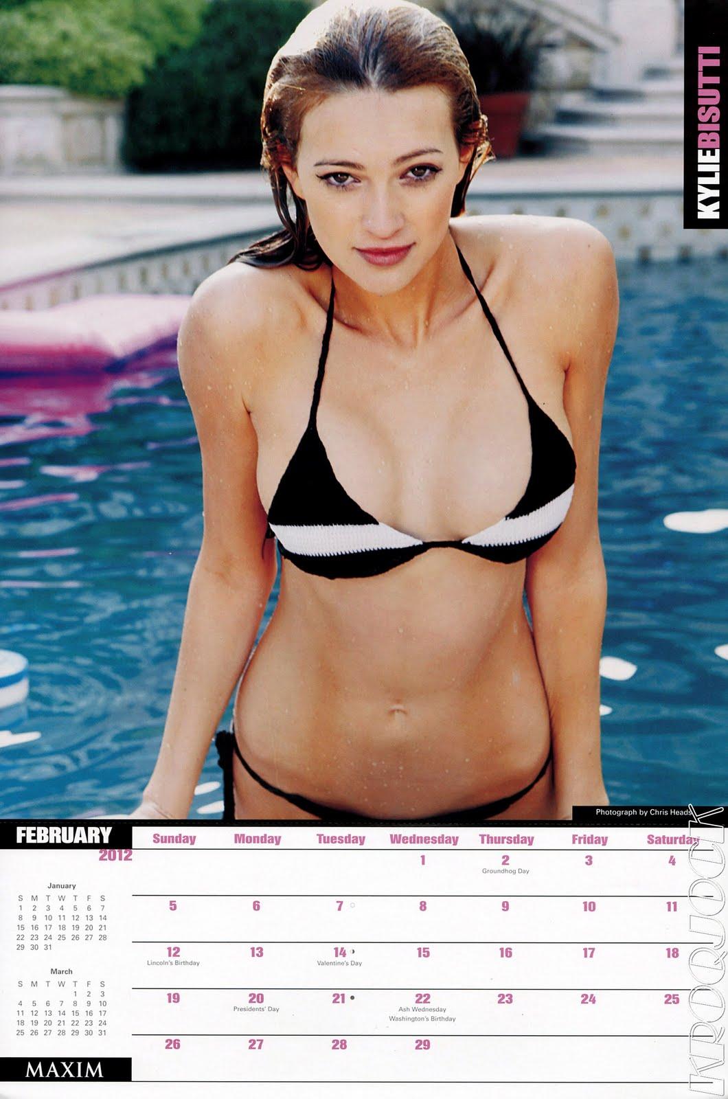 Maxim Magazine Calendar 2012