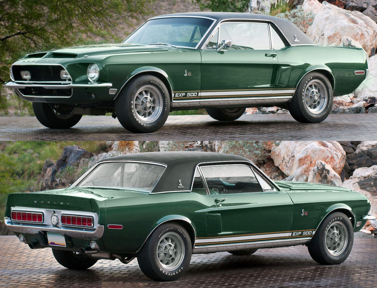 1968 shelby mustang green hornet prototype iblog