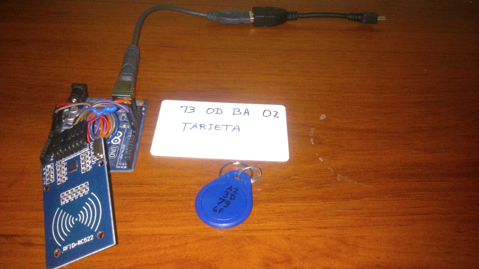 Android - Arduino: NFC RFID - RC522 - Android - Arduino