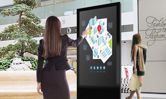 Màn hình quảng cáo đứng LCD 5