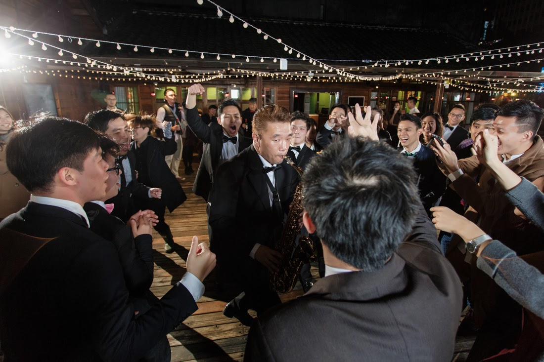 """""""蔡瑞月舞蹈研究社婚禮,"""
