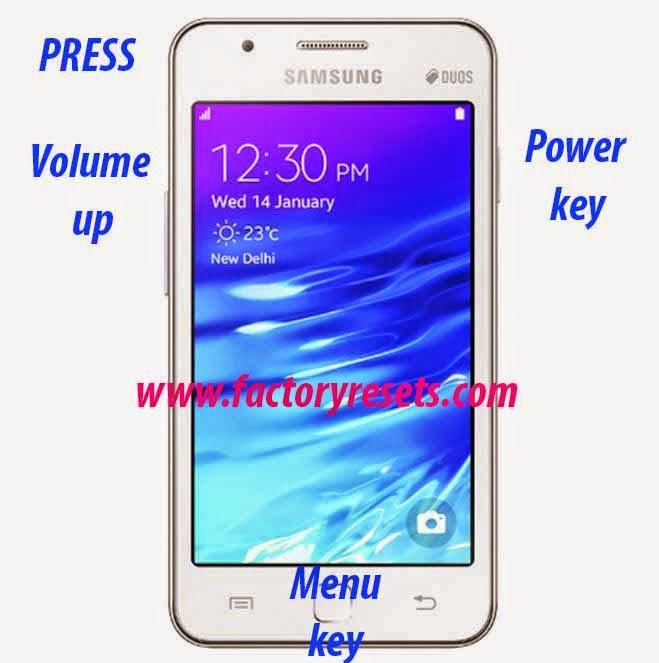 Hard Reset Samsung Z1 Tizen